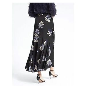 Banana Republic Skirts - Banana Republic Floral Flounce Maxi Skirt Sz.00P